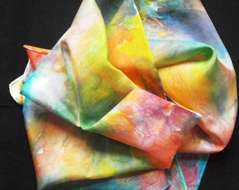 "Silk Scarf - ""Celestial Celebration"""