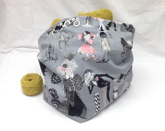 Ghastlie Relations Large Knitting Storage Bag