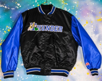 Oklahoma City THUNDER Starter Jacket Size XL