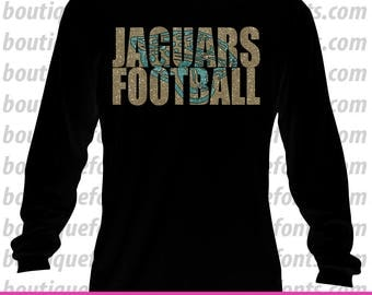 Jaguars Football SVG Cut Files - Instant Download