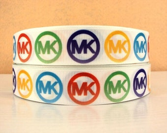 "7/8"" Michael Kors Grosgrain Ribbon"