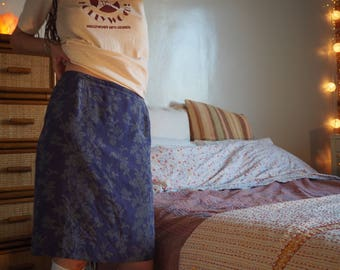 calvin klein silk skirt