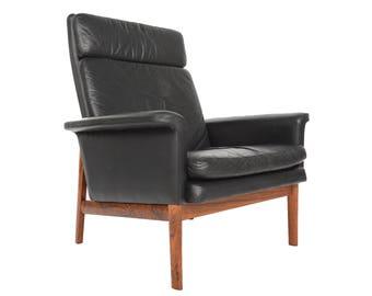 Danish Mid Century Modern Finn Juhl Jupiter Chair for France and Son