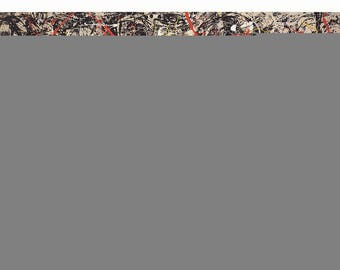 Jackson Pollock-Convergence (Lg.)-1983 Poster