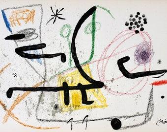 Joan Miro-Maravillas #1061-1975 Lithograph