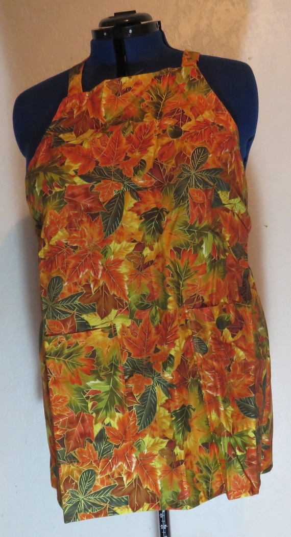 Fall Leaves Full Apron