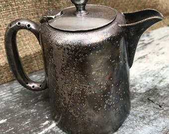 Silver Plated Vintage Coffee Pot