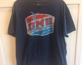 Dave Matthews vintage t shirt size x large