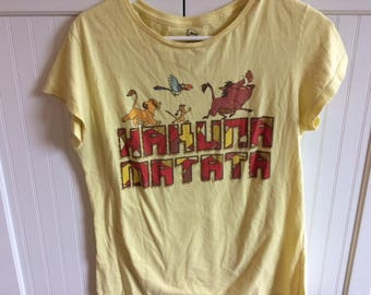 lion king t shirt size childs xxl