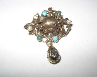 1960s Original by Robert Pin Brooch Vintage Costume Jewelry #531