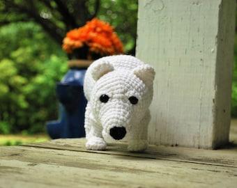 Crochet Chibi Polar Bear - Vulnerable