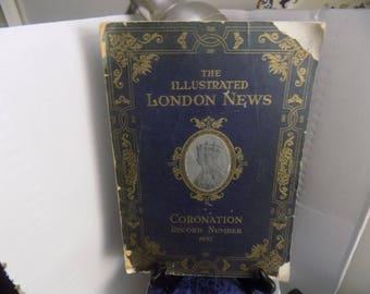 1937 cornation of King George vI &Queen Elizabeth