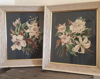 Vintage 1940's Turner Floral Prints
