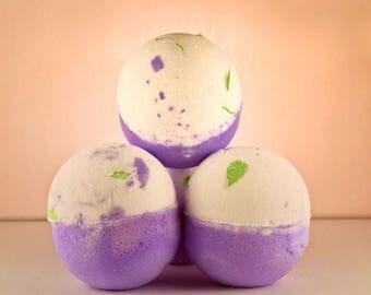 Bath Bomb / Juniper Bath Balm / Surprise Bath Bomb / Bath Fizzie / Jupiter Bath Bomb