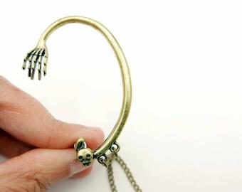 Skull Earrings, Skull Jewelry