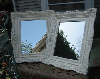 feminine french shabby chic mirror
