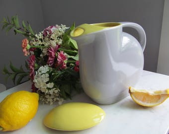 Hall China General Electric Refrigerator Pitcher 1950's