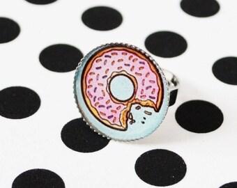 choix de bague ajustable en resine /choice of ring adjustable resin