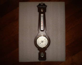 Vintage Springfield Thermometer, Barometer, And Humidity Wall Hanging