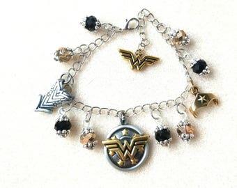 Wonder Woman Charm Bracelet