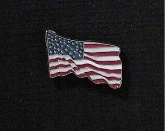 US Flag Concho