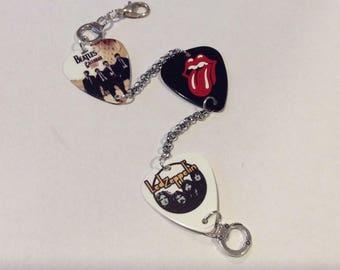 Rock Inspired Guitar Pick bracelet