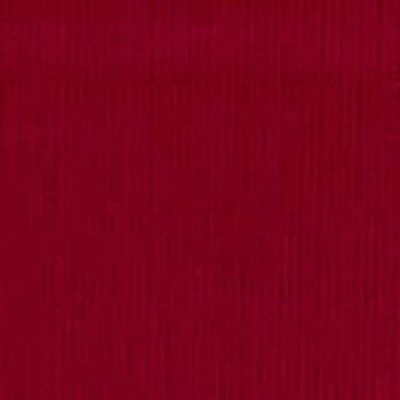 High Quality Fabric Finders Red Corduroy