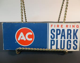 AC Fire Ring Spark Plugs 45 NOS