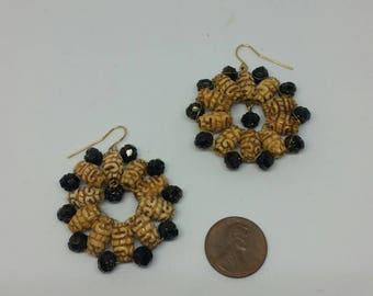 Beautiful Hand Woven Earrings