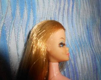 Topper Doll 1970 -Head 11A-Eyelashes Intact-