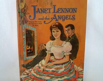 ON SALE Book, Children's, Janet Lennon, And The Angles, Whitman Publishing Co. 1963, First Edition, Hardcover, No 1583, Collectibles, Vintag