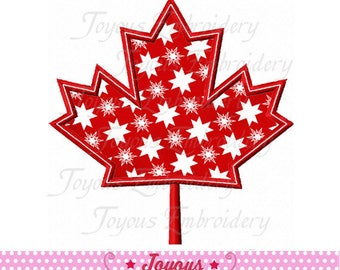 Instant Download Canada Maple Leaf Applique Machine Embroidery Design NO:2342
