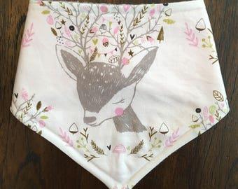 Bandana Bib - Deer 1