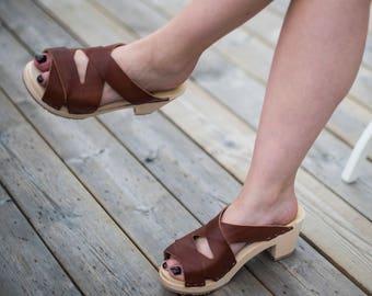 Selina Swedish Clog Sandal