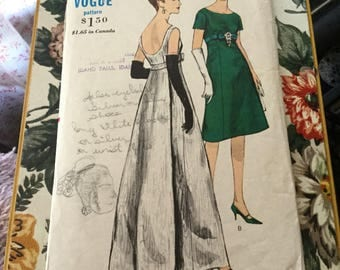 Vintage Vogue dress pattern 5942