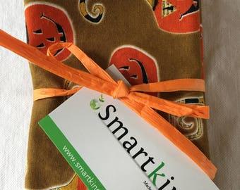 Brown, Orange Pumpkin Halloween All Cotton Cloth Lunch Box Napkin 12x15 in Size bySmartkin