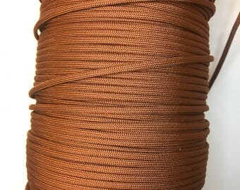 Chocolate brown paracord, paracord, 550 paracord, nylon paracord, commercial grade paracord