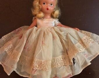 "Sweet Nancy Ann  Story Book Doll 6.5"""