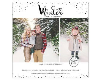 MB23 :. Holiday Marketing board | Winter Minis