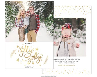 HD5 :. Merry Christmas Card Template | Christmas Miracles