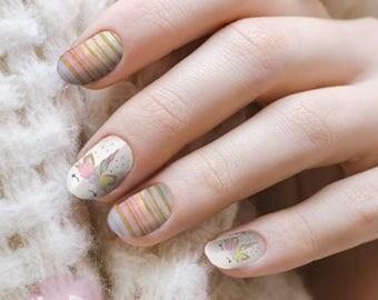 Unicorn nails etsy studio unicorn nail decal nail art unicorn waterslide decal fairy tale nail art fingernail art prinsesfo Image collections
