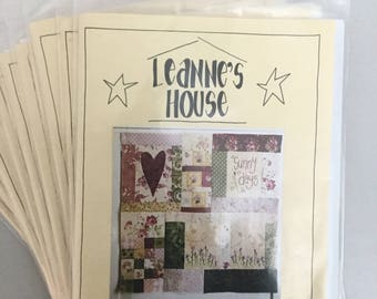 Quilt Patterns - Block of the Month - Leanne's House