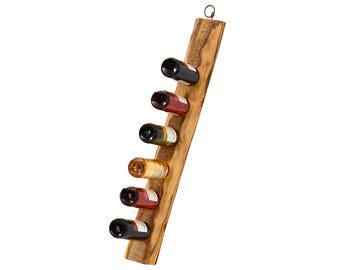 Wine rack, Solid wood wine stand, Handcrafted wine rack, Riddling rack, Weinregal, Household gift, Wooden wine stand, Wine holder