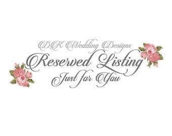 Wedding Programs & Menus/ TINAMARIE