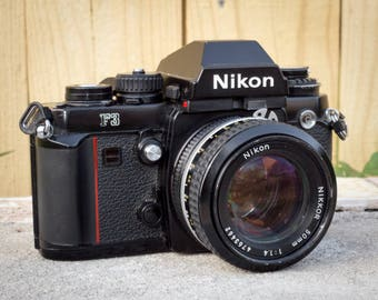 Nikon F3 with 50mm f/1.4 AI Lens, Excellent Condition!