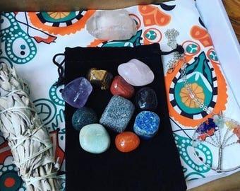 Crystal starter kit (serenity box)