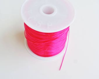 8 m with 0.5 mm pink elastic