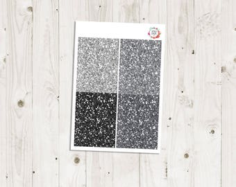 Neutral Glitter Headers - ECLP Stickers