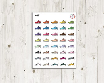 Running Shoe Planner Stickers - ECLP Stickers