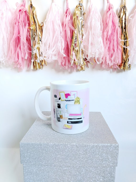 But first coffee, GIRLBOSS mug, personalized mug, girl boss mug, coffee lover, girly mug, custom mug, boss mug, gifts for her
